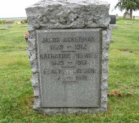 ACKERMAN, KATHARINE - Washington County, Nebraska | KATHARINE ACKERMAN - Nebraska Gravestone Photos