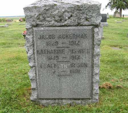 ACKERMAN, JACOB - Washington County, Nebraska | JACOB ACKERMAN - Nebraska Gravestone Photos