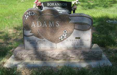 ADAMS, RONALD JOSEPH - Washington County, Nebraska | RONALD JOSEPH ADAMS - Nebraska Gravestone Photos