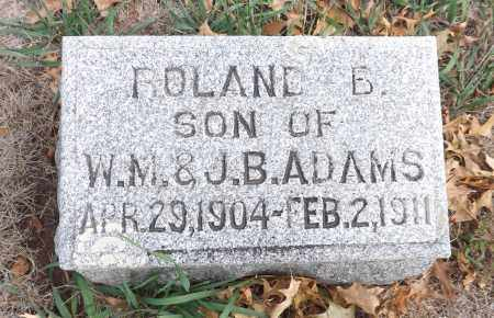 ADAMS, ROLAND B. - Washington County, Nebraska | ROLAND B. ADAMS - Nebraska Gravestone Photos