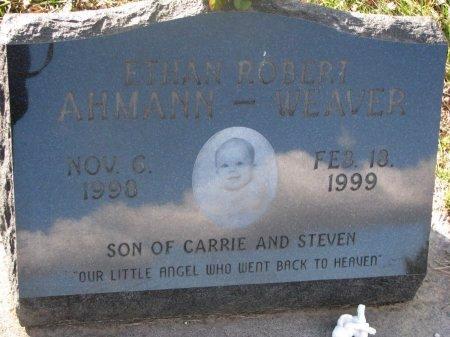 AHMANN-WEAVER, ETHAN ROBERT - Washington County, Nebraska | ETHAN ROBERT AHMANN-WEAVER - Nebraska Gravestone Photos