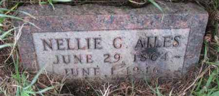 AILES, NELLIE G. - Washington County, Nebraska | NELLIE G. AILES - Nebraska Gravestone Photos