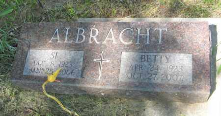 ALBRACHT, BETTY - Washington County, Nebraska | BETTY ALBRACHT - Nebraska Gravestone Photos