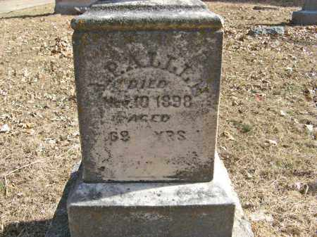 ALLEN, A. P. (CLOSE UP) - Washington County, Nebraska | A. P. (CLOSE UP) ALLEN - Nebraska Gravestone Photos
