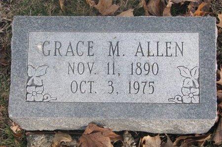ALLEN, GRACE MELINDA - Washington County, Nebraska   GRACE MELINDA ALLEN - Nebraska Gravestone Photos