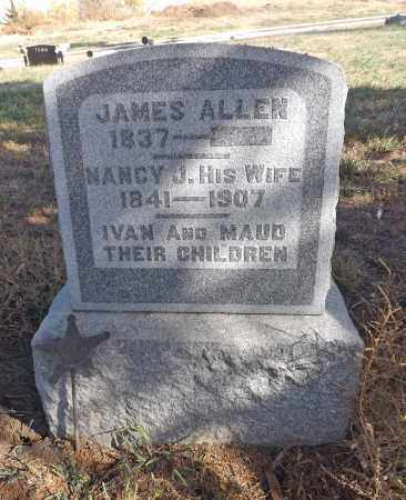 ALLEN, NANCY J. - Washington County, Nebraska | NANCY J. ALLEN - Nebraska Gravestone Photos