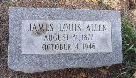 ALLEN, JAMES LOUIS - Washington County, Nebraska   JAMES LOUIS ALLEN - Nebraska Gravestone Photos