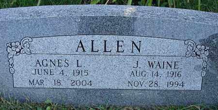 ALLEN, J. WAINE - Washington County, Nebraska | J. WAINE ALLEN - Nebraska Gravestone Photos