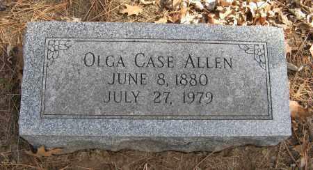 ALLEN, OLGA - Washington County, Nebraska | OLGA ALLEN - Nebraska Gravestone Photos