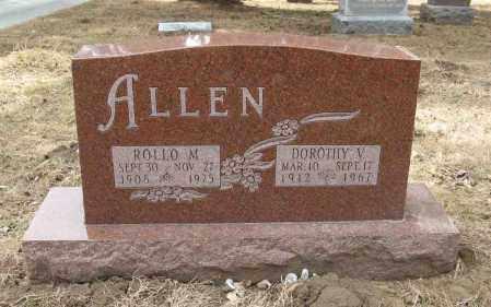 ALLEN, ROLLO M. - Washington County, Nebraska | ROLLO M. ALLEN - Nebraska Gravestone Photos