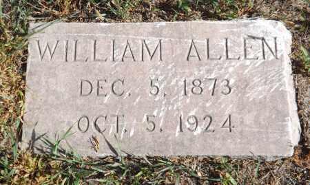 ALLEN, WILLIAM - Washington County, Nebraska | WILLIAM ALLEN - Nebraska Gravestone Photos