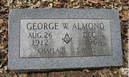 ALMOND, GEORGE W. - Washington County, Nebraska | GEORGE W. ALMOND - Nebraska Gravestone Photos