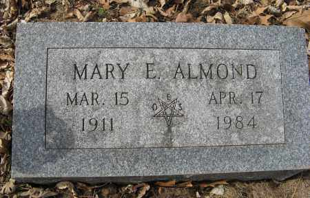ALMOND, MARY E. - Washington County, Nebraska | MARY E. ALMOND - Nebraska Gravestone Photos