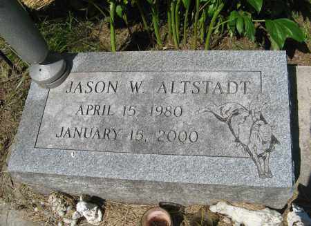 ALTSTADT, JASON W. - Washington County, Nebraska | JASON W. ALTSTADT - Nebraska Gravestone Photos
