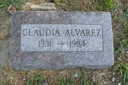 ALVAREZ, CLAUDIA - Washington County, Nebraska | CLAUDIA ALVAREZ - Nebraska Gravestone Photos