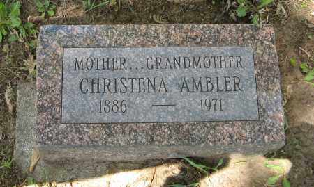AMBLER, CHRISTENA - Washington County, Nebraska | CHRISTENA AMBLER - Nebraska Gravestone Photos