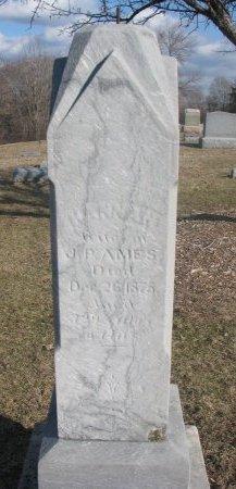 AMES, HANNAH - Washington County, Nebraska | HANNAH AMES - Nebraska Gravestone Photos
