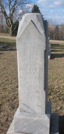 AMES, JOSEPH PIERCE - Washington County, Nebraska   JOSEPH PIERCE AMES - Nebraska Gravestone Photos