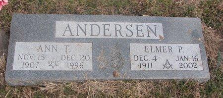 ANDERSEN, ANN T. - Washington County, Nebraska | ANN T. ANDERSEN - Nebraska Gravestone Photos