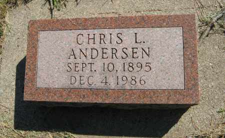 ANDERSEN, CHRIS L. - Washington County, Nebraska | CHRIS L. ANDERSEN - Nebraska Gravestone Photos