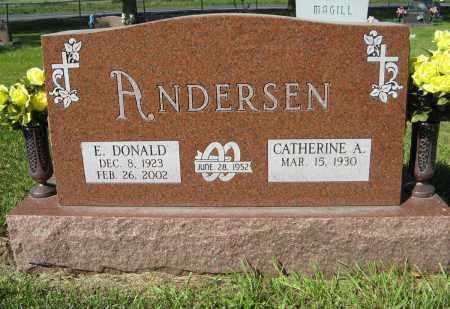 ANDERSEN, E. DONALD - Washington County, Nebraska | E. DONALD ANDERSEN - Nebraska Gravestone Photos