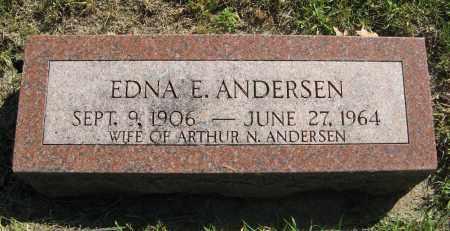 ANDERSEN, EDNA E. - Washington County, Nebraska   EDNA E. ANDERSEN - Nebraska Gravestone Photos