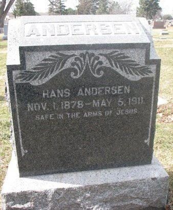 ANDERSEN, HANS - Washington County, Nebraska | HANS ANDERSEN - Nebraska Gravestone Photos