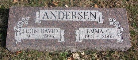 ANDERSEN, EMMA C. - Washington County, Nebraska | EMMA C. ANDERSEN - Nebraska Gravestone Photos