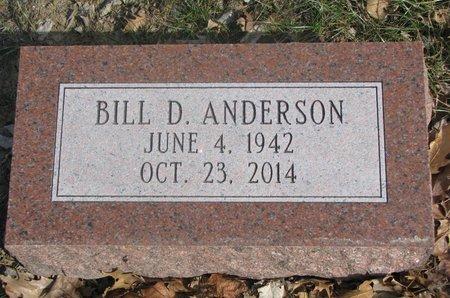 ANDERSON, BILL D. - Washington County, Nebraska   BILL D. ANDERSON - Nebraska Gravestone Photos