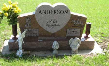 ANDERSON, DOROTHY C. - Washington County, Nebraska | DOROTHY C. ANDERSON - Nebraska Gravestone Photos
