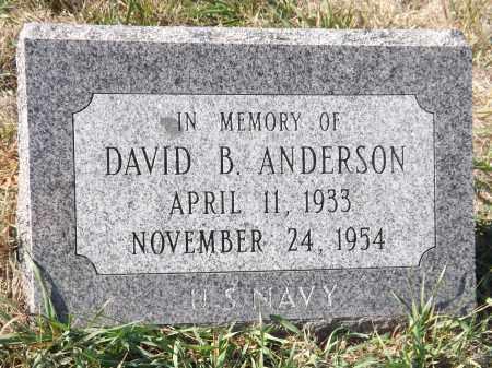 ANDERSON, DAVID B. - Washington County, Nebraska | DAVID B. ANDERSON - Nebraska Gravestone Photos