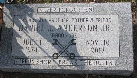 ANDERSON, DANIEL J. JR. - Washington County, Nebraska   DANIEL J. JR. ANDERSON - Nebraska Gravestone Photos