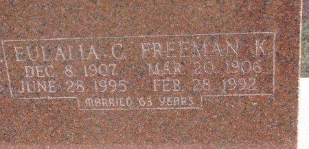 ANDERSON, FREEMAN K. (CLOSE UP) - Washington County, Nebraska | FREEMAN K. (CLOSE UP) ANDERSON - Nebraska Gravestone Photos
