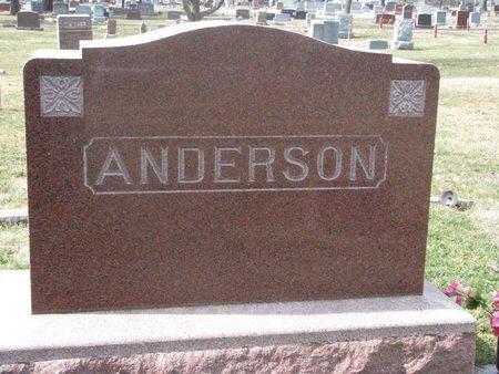 ANDERSON, *FAMILY MOMUMENT - Washington County, Nebraska | *FAMILY MOMUMENT ANDERSON - Nebraska Gravestone Photos