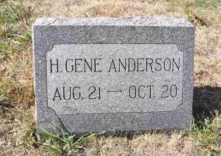 ANDERSON, H. GENE - Washington County, Nebraska | H. GENE ANDERSON - Nebraska Gravestone Photos