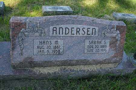 ANDERSON, HANS M. - Washington County, Nebraska | HANS M. ANDERSON - Nebraska Gravestone Photos