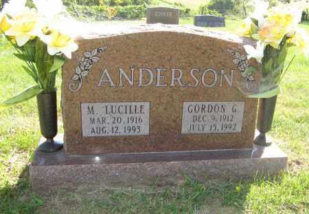 ANDERSON, GORDON G. - Washington County, Nebraska   GORDON G. ANDERSON - Nebraska Gravestone Photos
