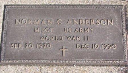 ANDERSON, NORMAN CLARENCE - Washington County, Nebraska | NORMAN CLARENCE ANDERSON - Nebraska Gravestone Photos