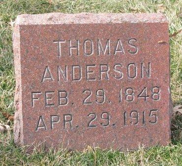 ANDERSON, THOMAS - Washington County, Nebraska | THOMAS ANDERSON - Nebraska Gravestone Photos