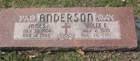 ANDERSON, JAMES - Washington County, Nebraska | JAMES ANDERSON - Nebraska Gravestone Photos