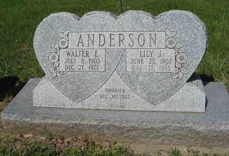 ANDERSON, WALTER E. - Washington County, Nebraska | WALTER E. ANDERSON - Nebraska Gravestone Photos