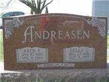 ANDREASEN, FRED P. - Washington County, Nebraska | FRED P. ANDREASEN - Nebraska Gravestone Photos