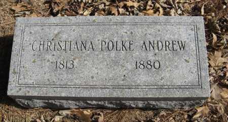ANDREW, CHRISTIANA - Washington County, Nebraska   CHRISTIANA ANDREW - Nebraska Gravestone Photos
