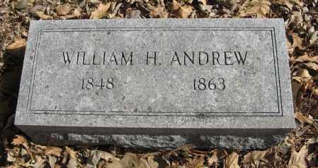 ANDREW, WILLIAM H. - Washington County, Nebraska | WILLIAM H. ANDREW - Nebraska Gravestone Photos