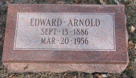 ARNOLD, EDWARD - Washington County, Nebraska | EDWARD ARNOLD - Nebraska Gravestone Photos