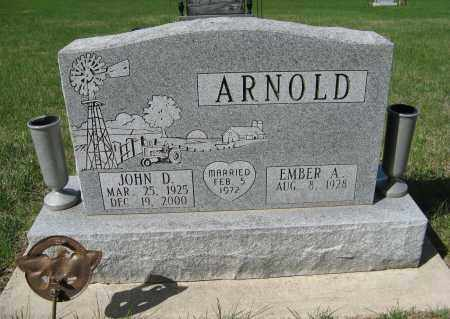 ARNOLD, JOHN D. - Washington County, Nebraska | JOHN D. ARNOLD - Nebraska Gravestone Photos