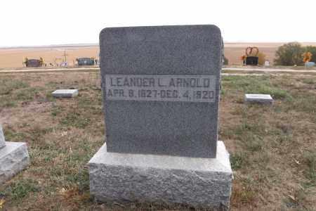 ARNOLD, LEANDER L. - Washington County, Nebraska | LEANDER L. ARNOLD - Nebraska Gravestone Photos