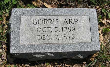 ARP, GORRIS - Washington County, Nebraska | GORRIS ARP - Nebraska Gravestone Photos