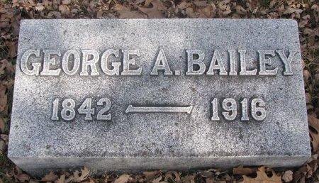 BAILEY, GEORGE A. - Washington County, Nebraska | GEORGE A. BAILEY - Nebraska Gravestone Photos