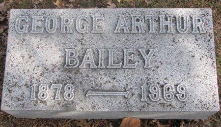 BAILEY, GEORGE ARTHUR - Washington County, Nebraska | GEORGE ARTHUR BAILEY - Nebraska Gravestone Photos